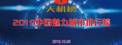2019中国魅力城市排行榜